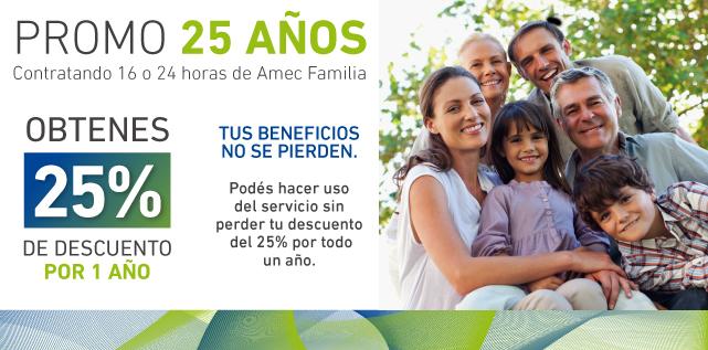 25 años - familia